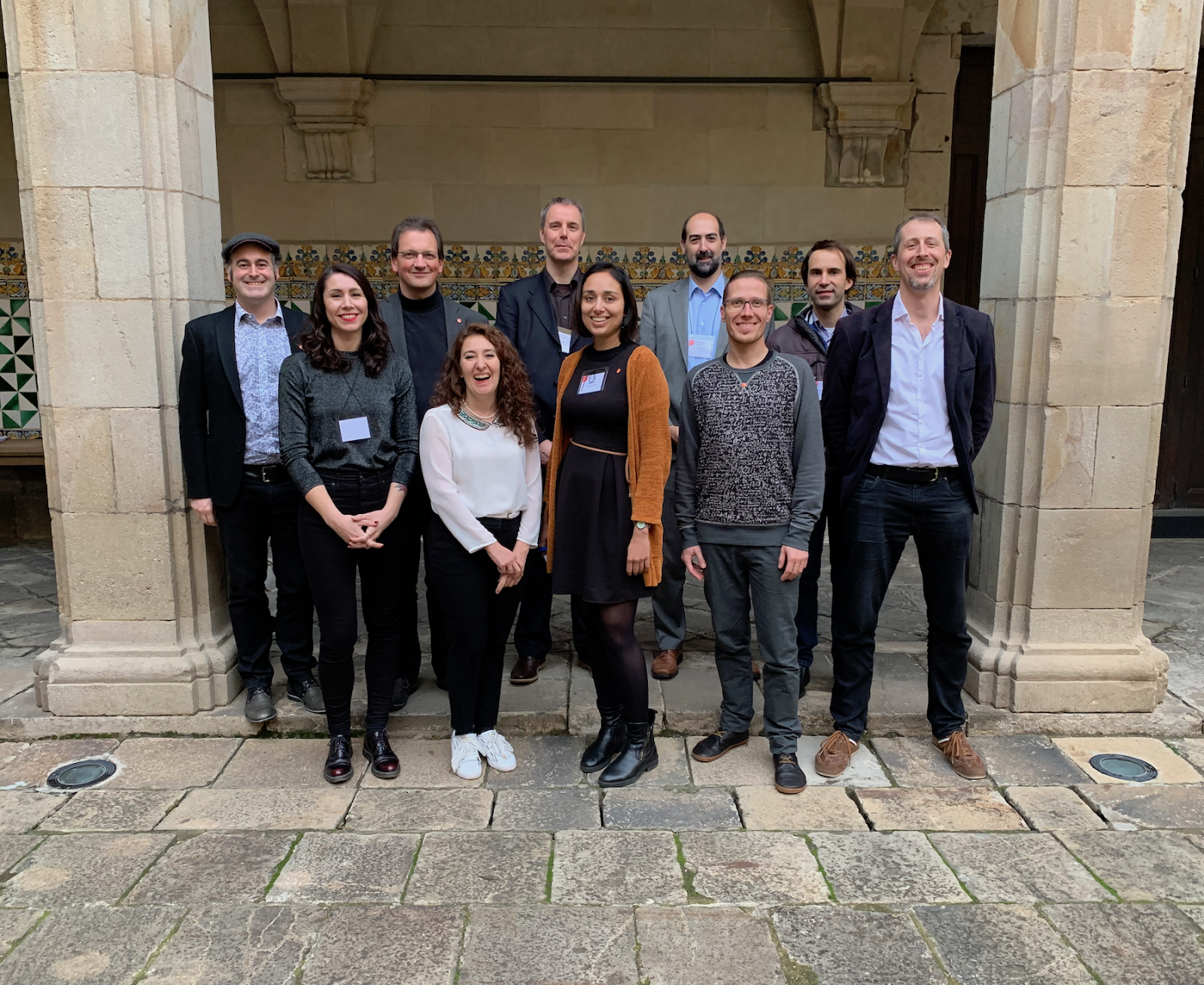 The new YAE Board, taken at the Barcelona AGM, November 2018 (Lydia Schumacher and Kate Black not present)